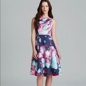 Kate Spade Olivia Abstract Floral Dress
